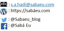 Contacts blog Sabá