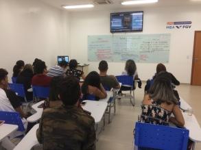 Curso na Uninorte-Acre, Brasil (2018)