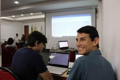 Étudiants accompagnant le webinaire. Source : Rose Sabóia.